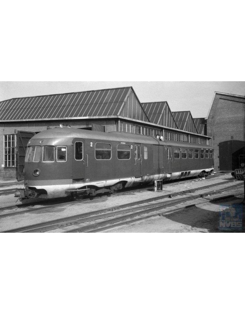 """NVM 20.04.006 diesel-mech. treinstel OMBC 2901-2908 (1937) - (""""Ome Ceesje"""") voor spoor 0"""