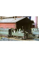 NVM 20.05.016 HSM lokaaltrein uit 1885 - Lok 136, B21, C236 voor spoor 0