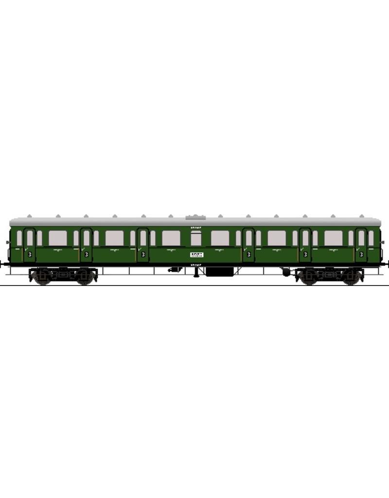 NVM 20.05.027 stalen rijtuigen NS serie 6400