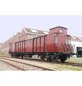 NVM 20.05.031 Bagagewagen voor binnenlands verkeer HSM 1901-1956 (NS 6001-6055) voor spoor 0