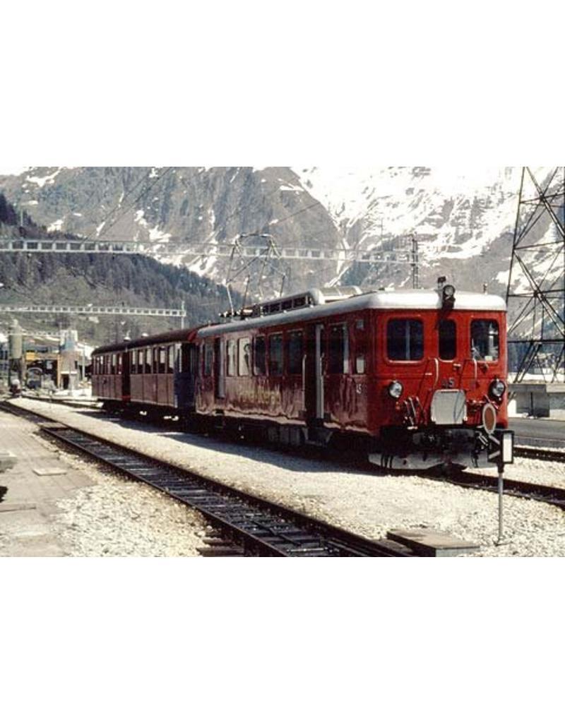NVM 20.33.004 motorwagen ABD He 2/4 41-45 Furka-Oberalpbahn voor spoor 0