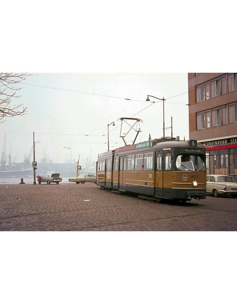 NVM 20.73.014 geleed tramrijtuig RET 601-635 voor spoor 0