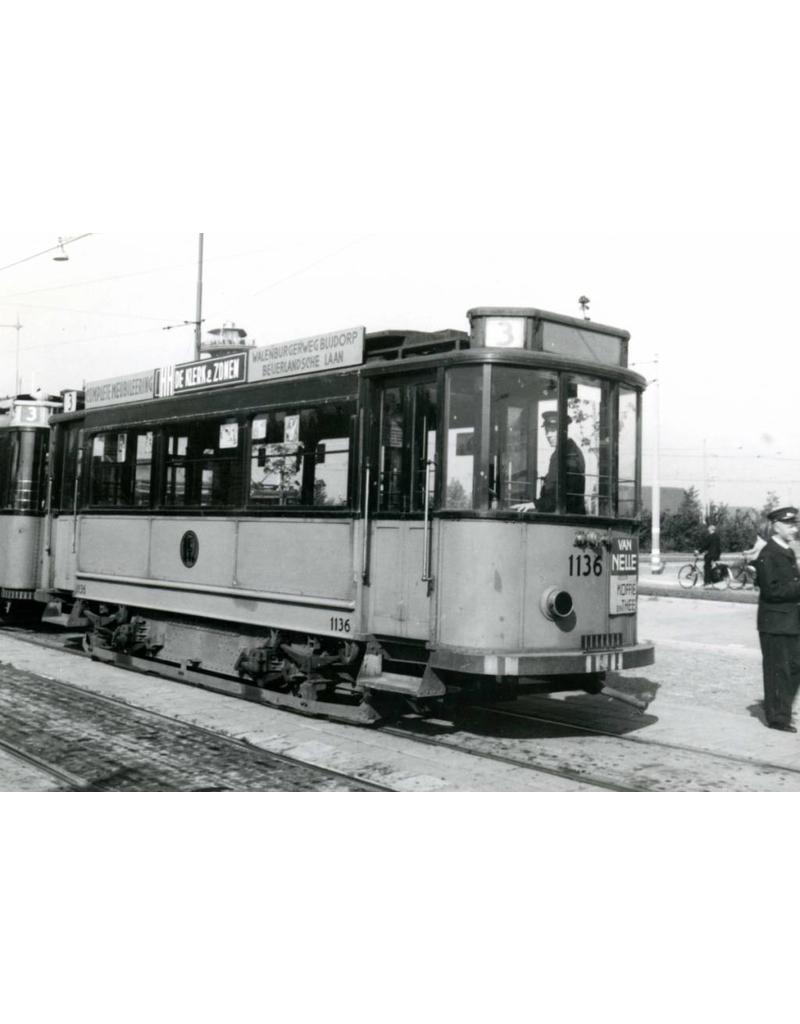 NVM 20.75.029 aanhangrijtuig RET 1127-1151 voor spoor I