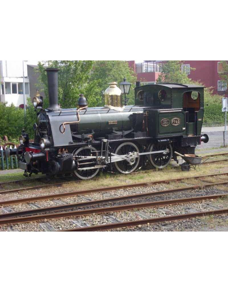 NVM 29.00.109 stoomlocomotief NS 7701 - 7744 voor spoor 0