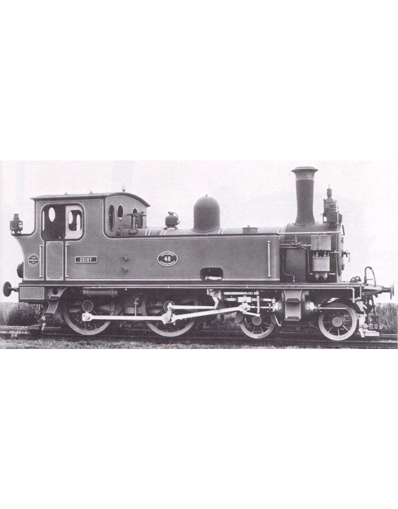 NVM 29.00.121 stoomlocomotief NS 7001 - 7010 voor spoor 0