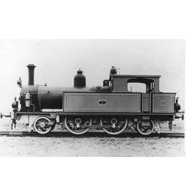 NVM 29.00.122 stoomlocomotief NS 7201 - 7209 voor spoor 0