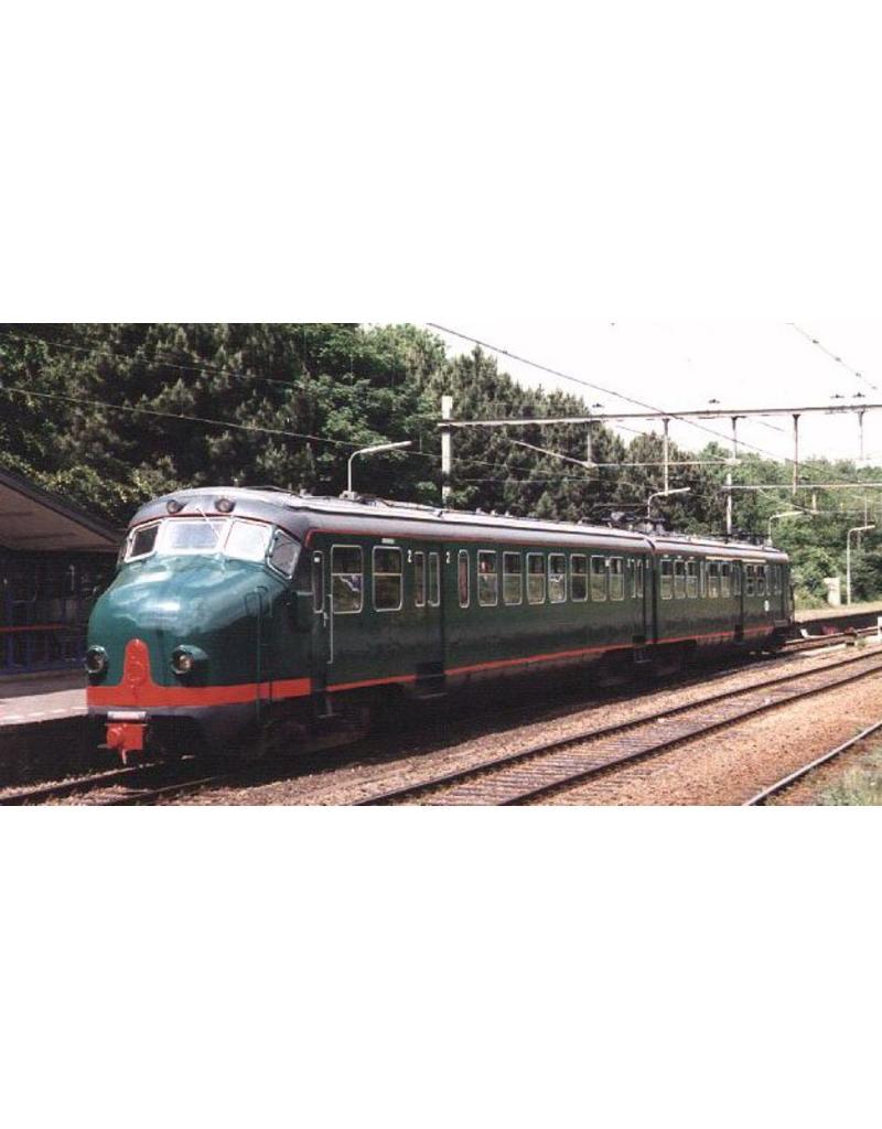 NVM 29.03.064 NS Electr 3-w treinstel 1956 serie 321-350; Benelux 2-w treinstel NS 1201-1208 (Hondekop)
