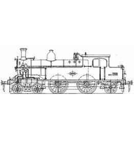 NVM 29.00.102 stoomlocomotief NS 57-1-5707 voor spoor 0