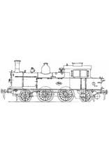 NVM 29.00.107 stoomlocomotief NS 7111-7125 voor spoor 0