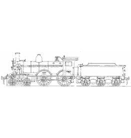 NVM 29.00.113 stoomlocomotief NS 1901 - 1940 voor spoor 0
