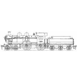 NVM 29.00.114 stoomlocomotief NS 2101 - 2135 voor spoor 0