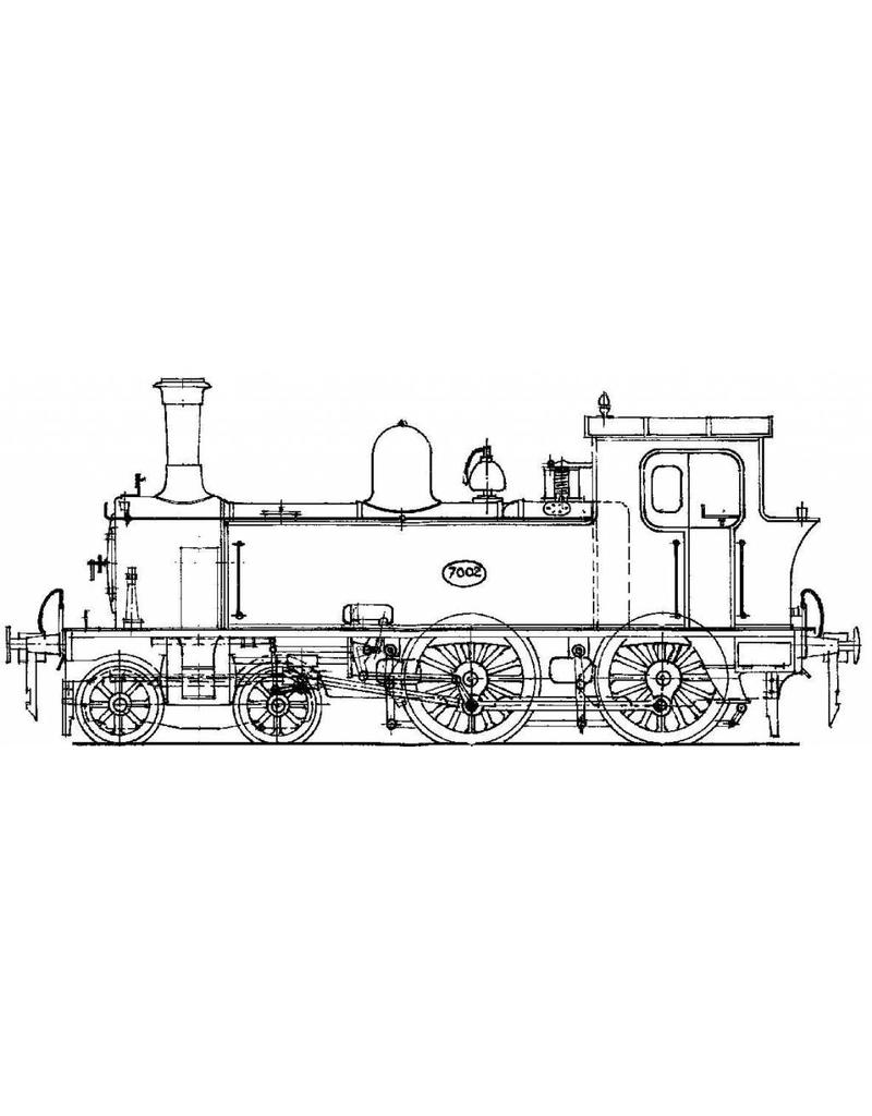 NVM 29.00.621 stoomlocomotief NS 7001 - 7010