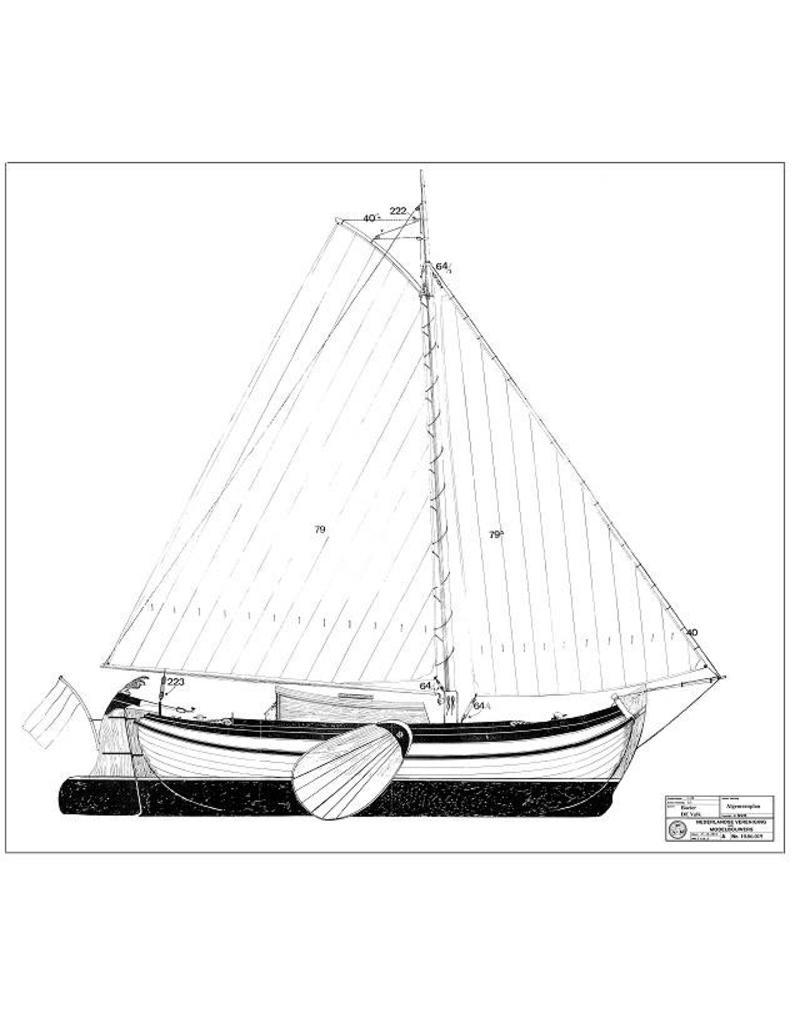 """NVM 10.06.019 boeier """"Valk"""" (1885)"""