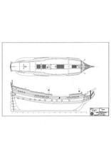"""NVM 10.00.034 Fluitschip """"Delfshaven"""" anno 1668"""