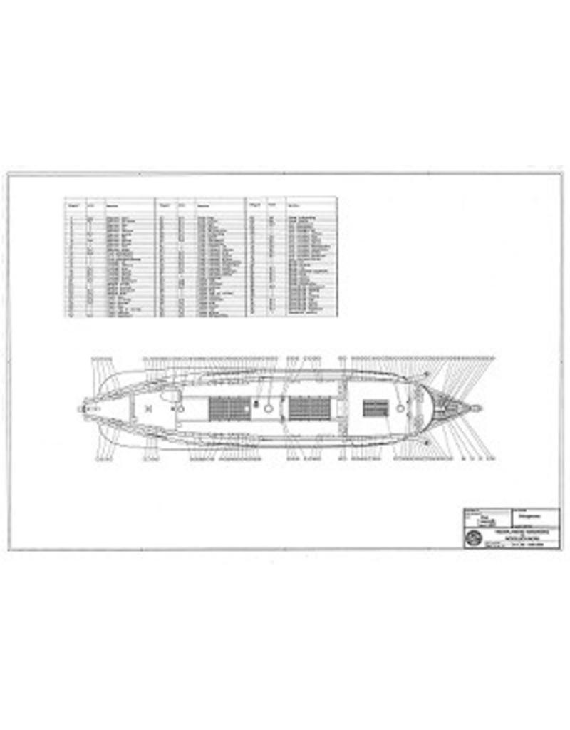 "NVM 10.01.018 Fluitschip ""Langewijk"" (1682)"