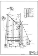 """NVM 10.03.012B gaffelvisschuit """"Jonge Marinus"""""""