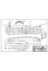 NVM 10.03.014 houten vissloep van de beugvisserij (1876)