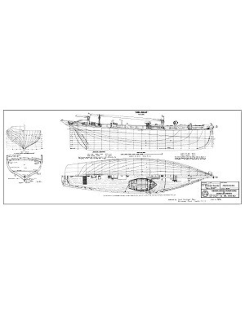 NVM 10.03.044 Brixham trawler Ibex BM27