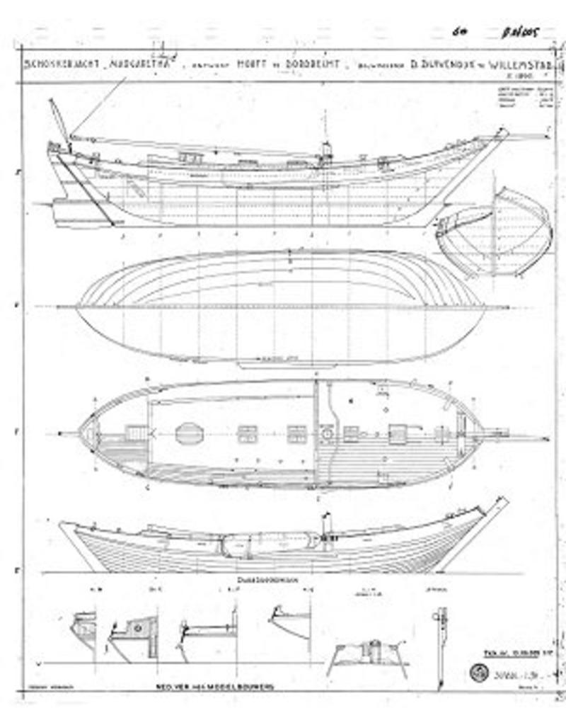 "NVM 10.06.005 schokkerjacht ""Margaretha"" (1890)"