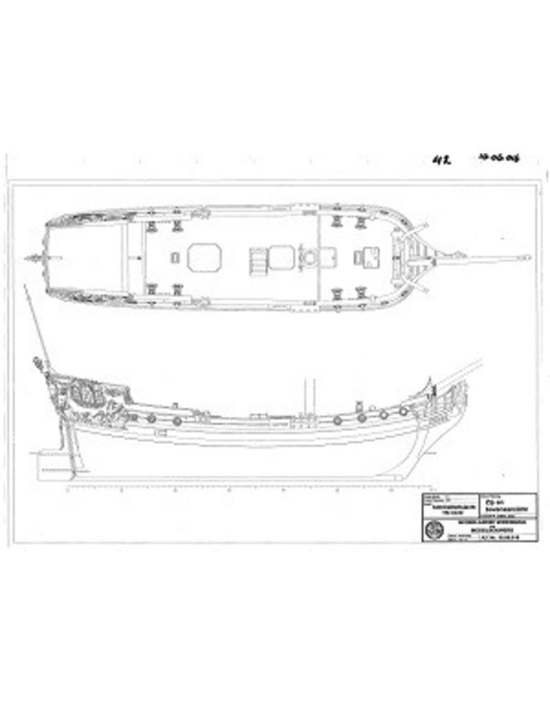 NVM 10.06.016 Admiraliteitsjacht (18e eeuw)