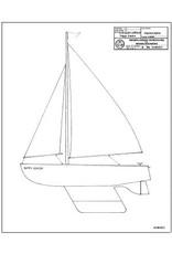 "NVM 10.08.023 knikspant zeilboot"" Nippy Junior"""