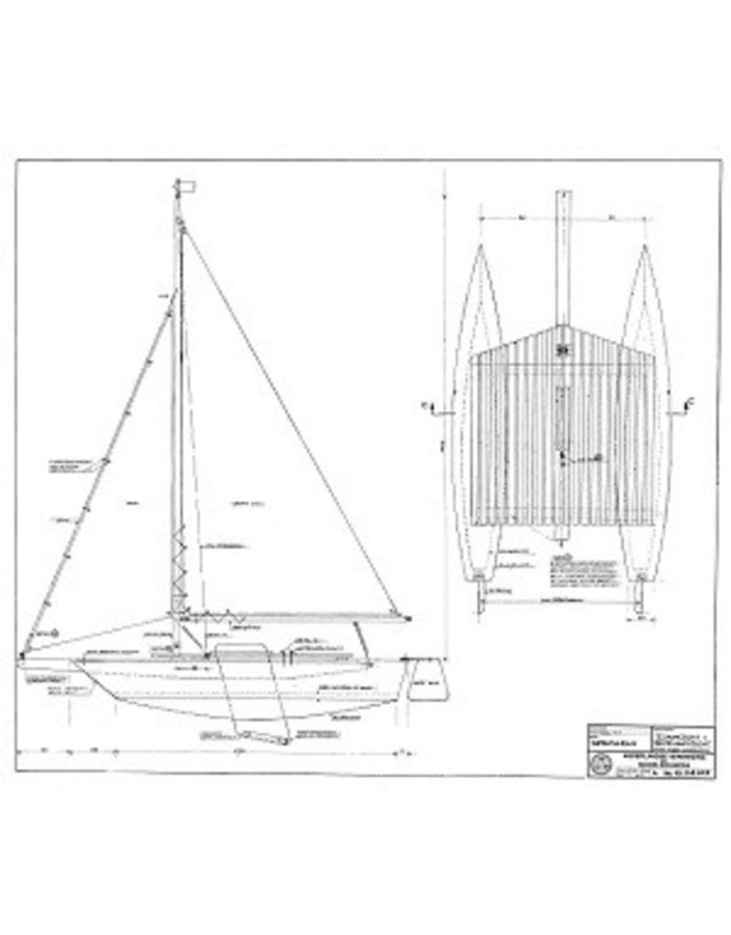 NVM 10.08.029 catamaran zeilboot
