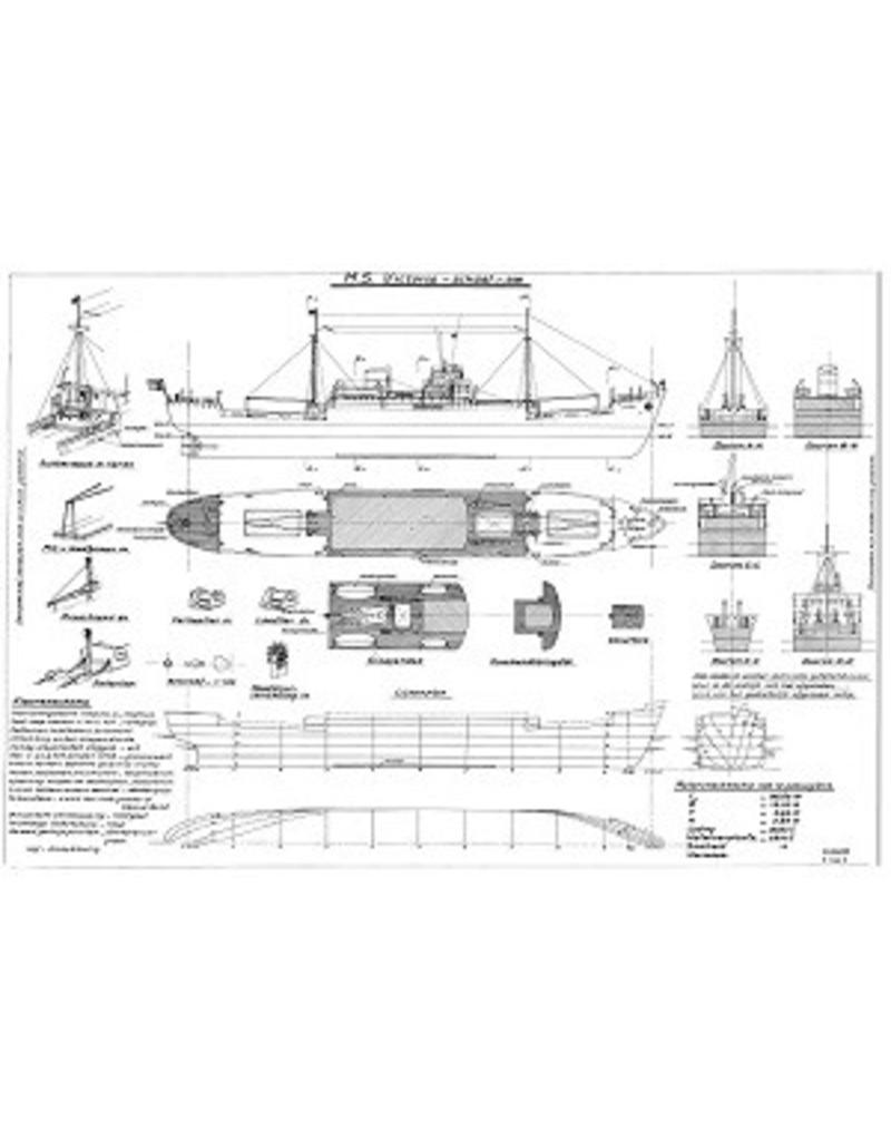 "NVM 10.10.022 vrachtschip ms ""Victoria"""