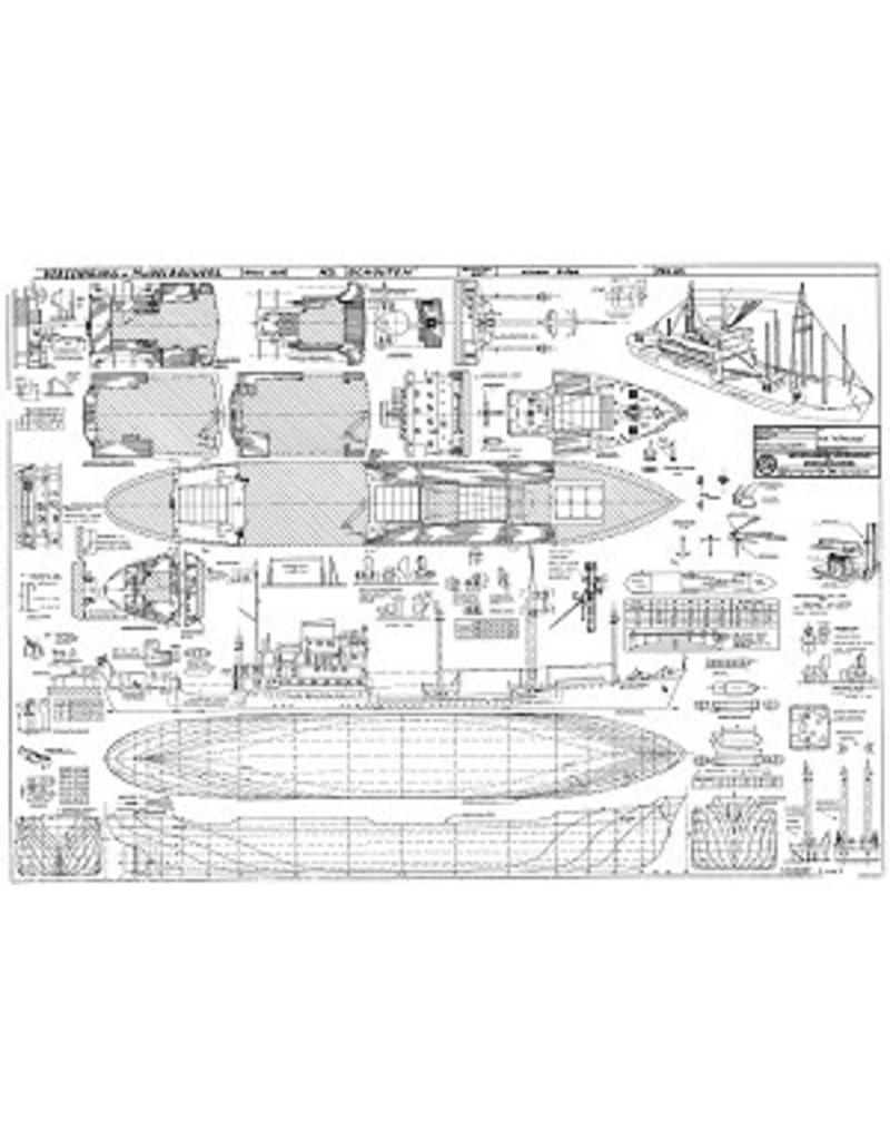 """NVM 10.10.037 vrachtschip ms """"Schouten"""" (1954) - KPM"""