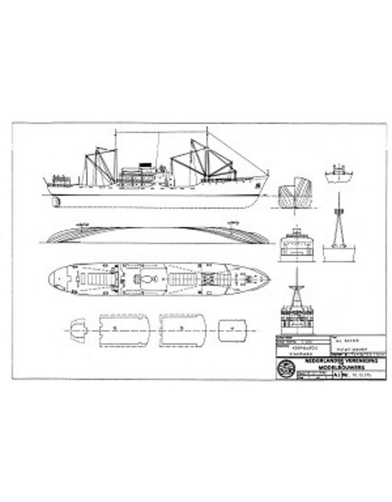 """NVM 10.10.075 vrachtschip ms """" Agadir"""""""
