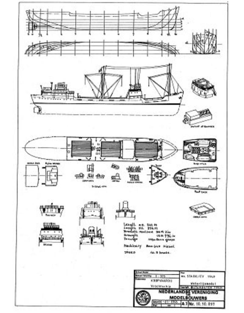 "NVM 10.10.097 vrachtschip ms ""Stability"" (1949)"