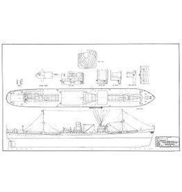 """NVM 10.10.131 vrachtschip ms """"Zonnewijk"""" (1946) - ex Empire Raleigh(1941), ex Vermeer(1942)"""