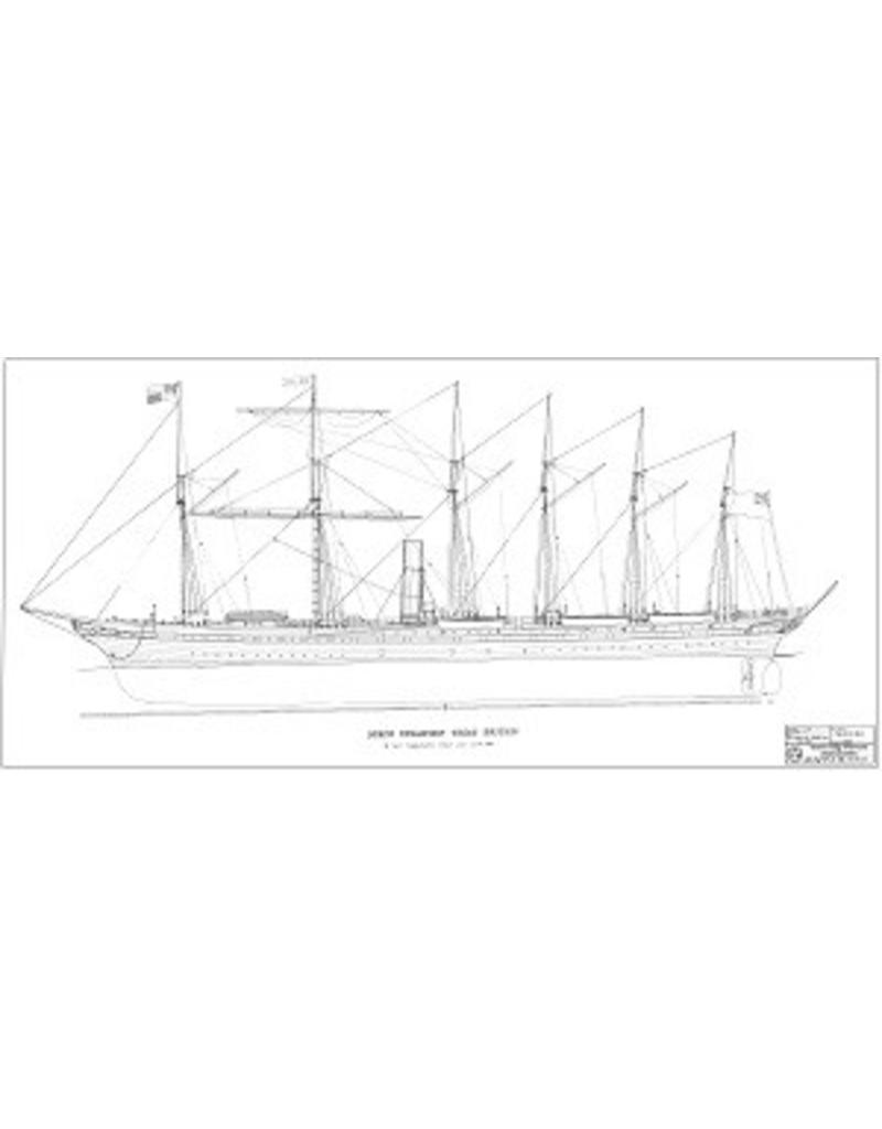 """NVM 10.10.133 schroefstoomschip ss """"Great Britain"""" (1843)"""