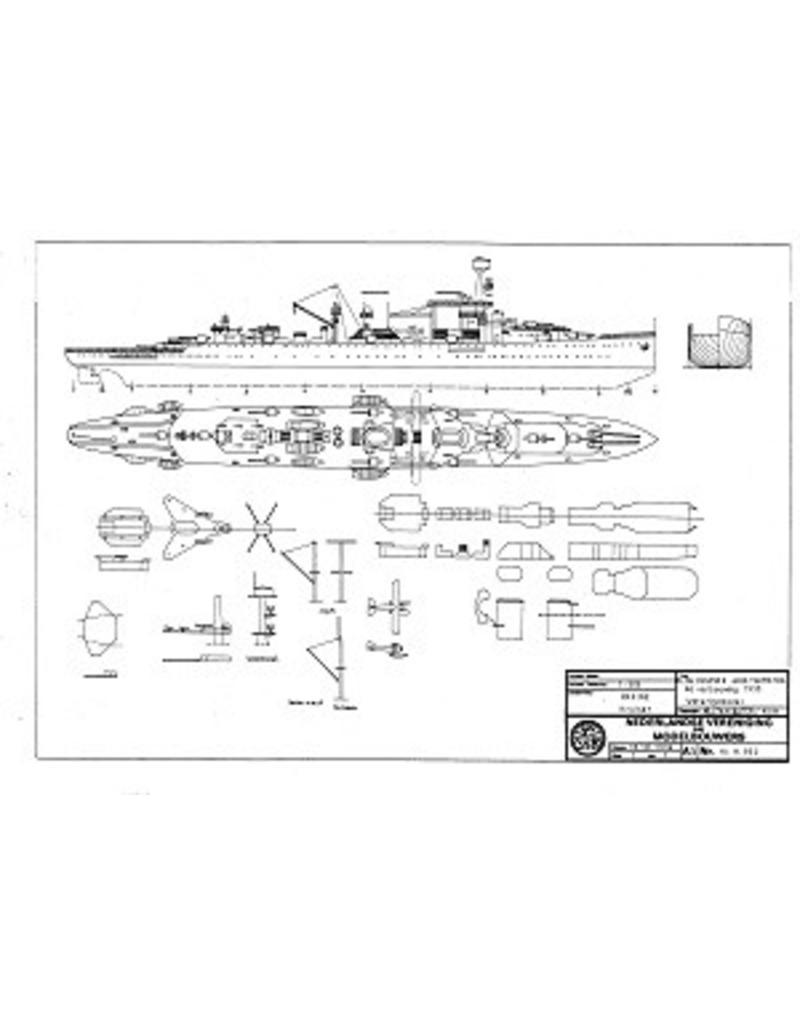 """NVM 10.11.050 HrMs kruisers """"Java"""" (1925), """"Sumatra"""" (1926); na verbouwing (1937)"""