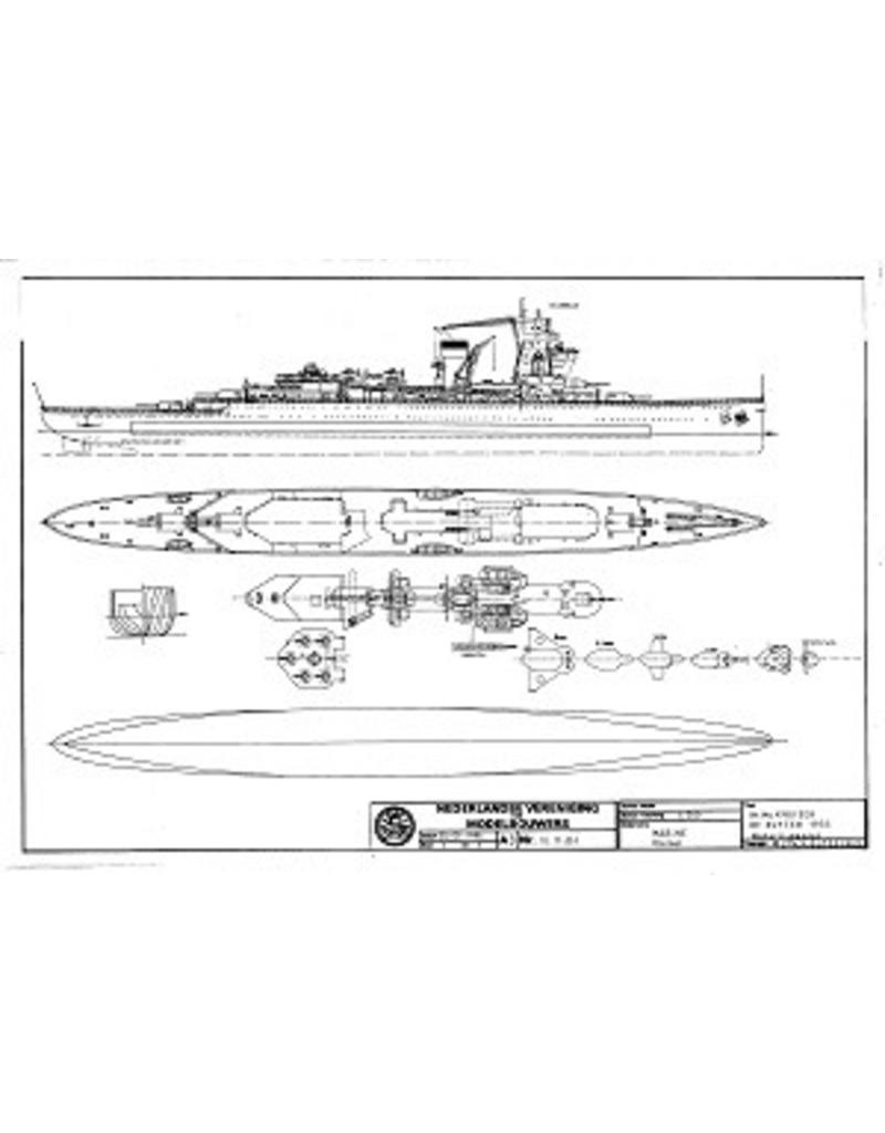 "NVM 10.11.051 HrMs kruiser ""De Ruyter"" (1936)"