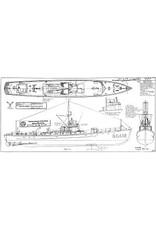 NVM 10.11.096 Onderzeeboot bestrijdingsvaartuig USS S.C. 412; S.C.1-class Submarine Chasers (va 18)