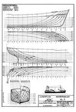 """NVM 10.13.008 motortrawler """"Ada"""" VL-7 (1955) - Zeevisserij Mij. """"Holland"""""""