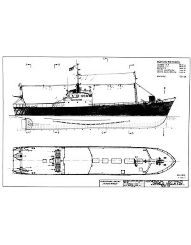 """NVM 10.13.010 hektrawler """"Cornelis Vrolijk Fzn"""" SCH 171(1960), """"Cornelis van den Dulk"""" KW 144"""