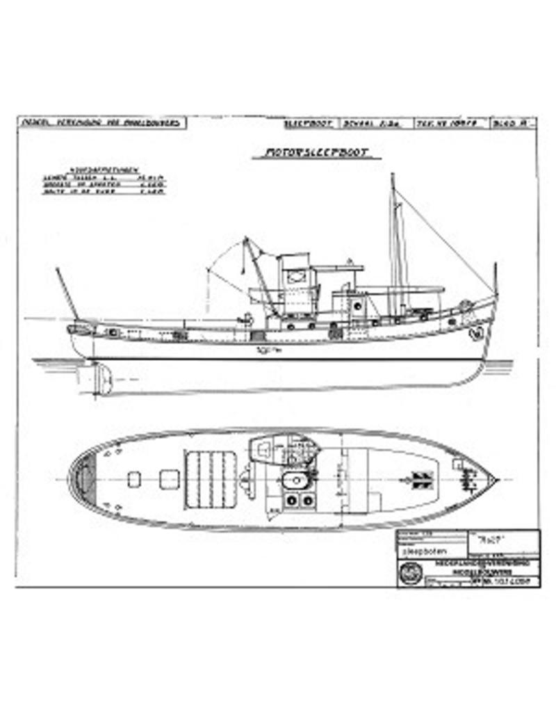 """NVM 10.14.002 riviersleepboot ms """"Rolf"""""""