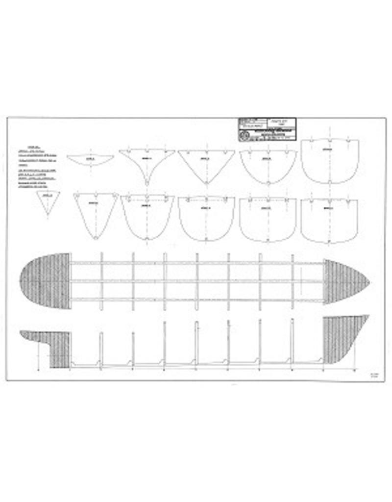 """NVM 10.14.005 Zeesleper ms """"Zwarte Zee"""" (IV)(1963) - L. Smit & Co."""