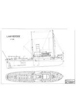 """NVM 10.14.030 zeesleper ss """" Lauwerszee"""" (1930) - L. Smit & Co's Intern. Sleepdienst"""