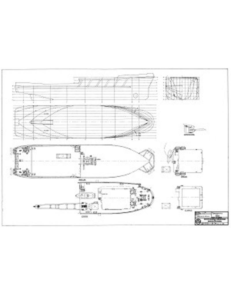 """NVM 10.14.052 bergingsvaartuig ms """"Orca"""" (1983) - Smit Tak; vanaf 1986 """"Smit Orca"""""""