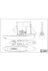 "NVM 10.14.056 sleepboot ms ""Holland"" (1952) - G. Doeksen & Zn"