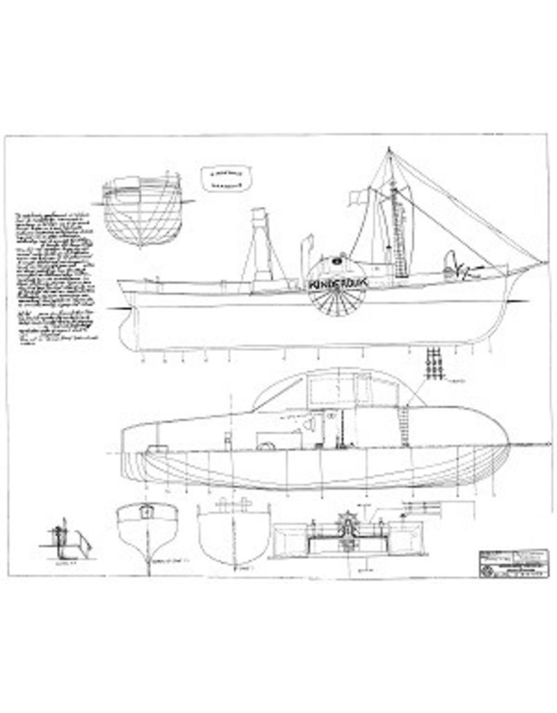 "NVM 10.14.058 radersleepboot ss ""Kinderdijk"" (1843) - Fop Smit"