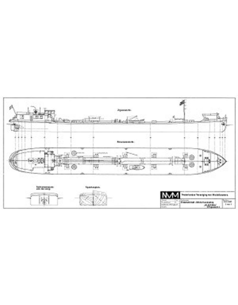 "NVM 10.15.002 Rijntanker ms "" Albania"" (1939) - Phs. van Ommeren"