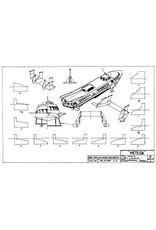 """NVM 10.15.009 draagvleugelboot type """"Meteor"""" (ca 1960)"""