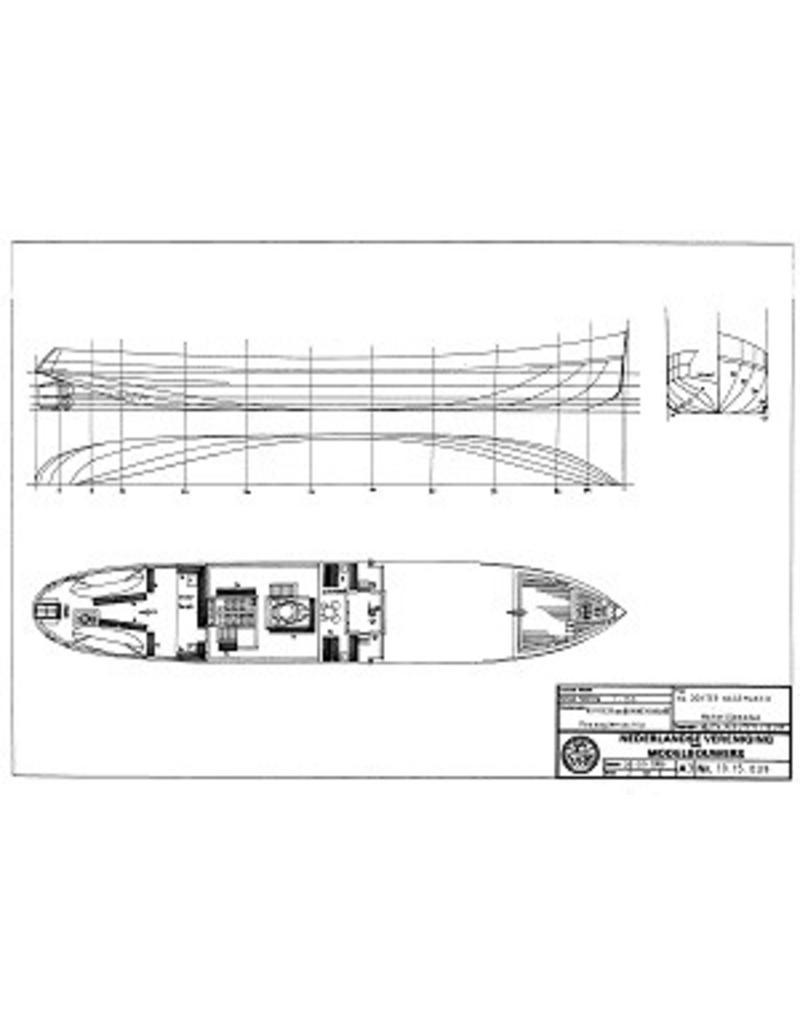"NVM 10.15.039 veerboot ss ""Dokter Wagemaker"" (1934) - TESO"