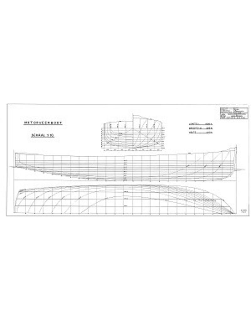 NVM 10.15.055 motor vrachtboot, luxe motor