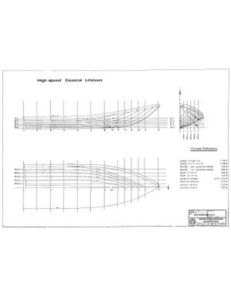 NVM 10.17.015 High Speed Coastal Lifeboat - semi rigid inflatable