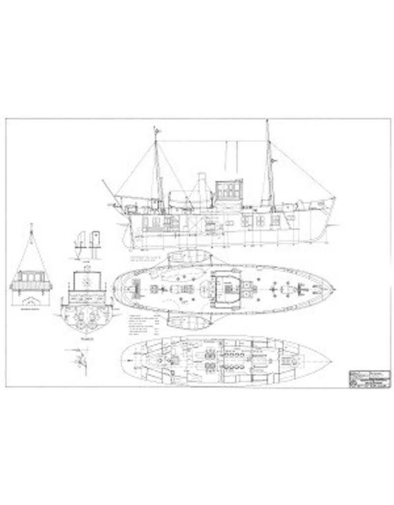 NVM 10.18.009 motorloodsvaartuig nr. 3 - ex loodsschoener 13 (1914), na verbouwing (1930)