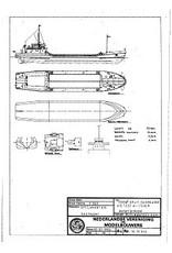 "NVM 10.19.012 1000 m3 splijtbak ""W.D. Test"" - Westminster Dredging"